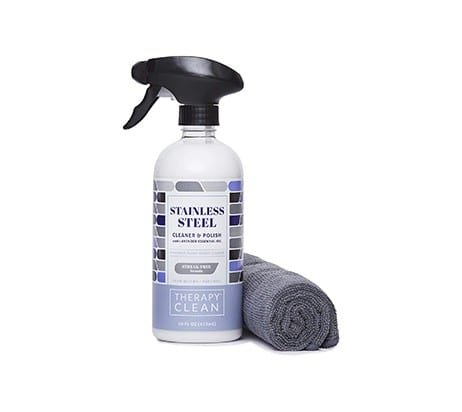 Cleaner with Microfiber Cloth