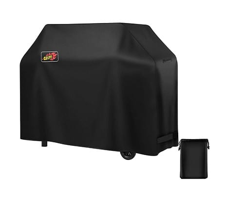 Homitt Gas Grill Cover with Handles and Straps