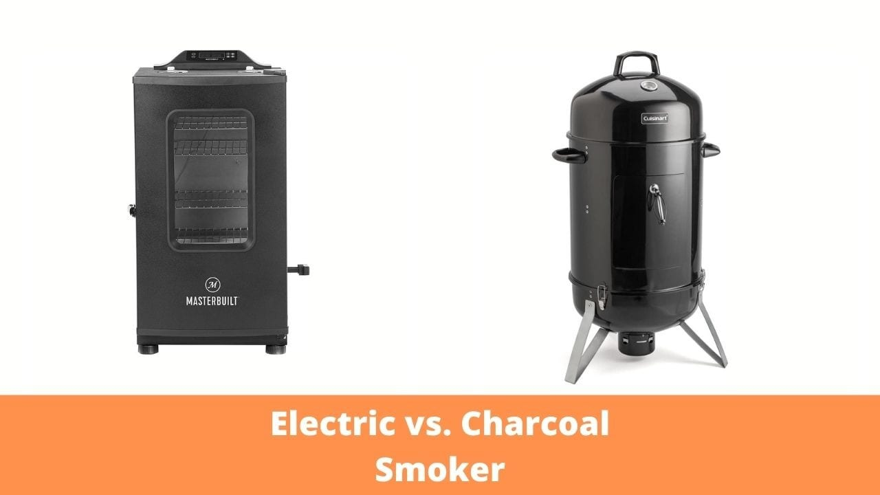 Electric vs. Charcoal Smoker Featured Image