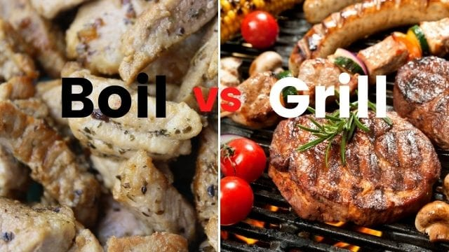 What is the Difference between Broil and Grill_
