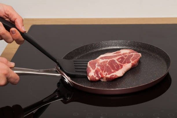 pan on smooth cooking surface