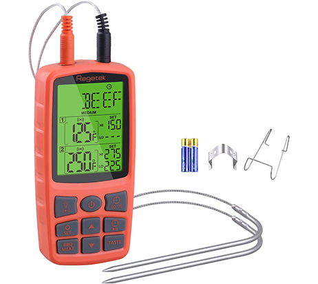 Regetek Cooking Food Meat Grill Thermometer - Most portable