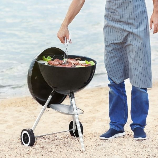 image for best gas grill for beach house