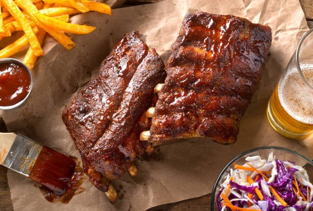Barbeque Nutrition Facts- pork ribs
